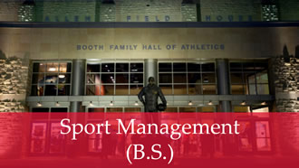 sport management degree photo